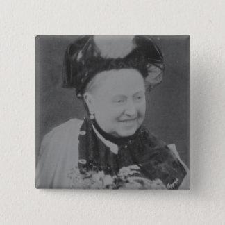 A Jubilee Portrait of Queen Victoria (1819-1901) L 15 Cm Square Badge