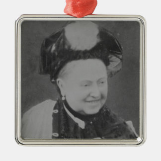 A Jubilee Portrait of Queen Victoria (1819-1901) L Silver-Colored Square Decoration
