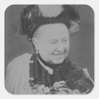A Jubilee Portrait of Queen Victoria (1819-1901) L Square Sticker