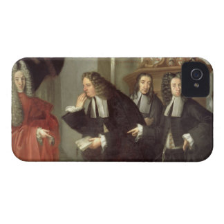 A Judge and Three Advocates, Venetian School (oil iPhone 4 Case