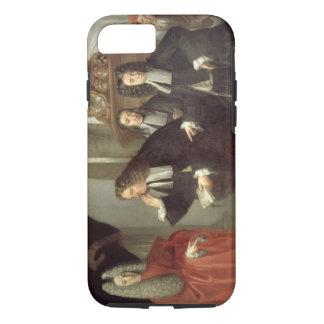 A Judge and Three Advocates, Venetian School (oil iPhone 8/7 Case