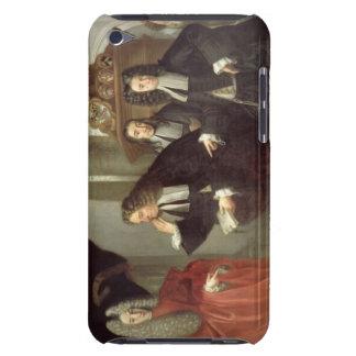 A Judge and Three Advocates, Venetian School (oil iPod Case-Mate Cases