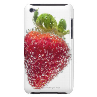 A juicy ripe organic Strawberry fruit submerged iPod Case-Mate Cases
