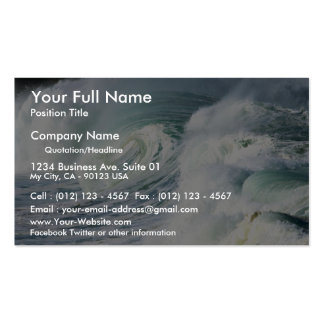 A jumble of whitewater chaos pack of standard business cards