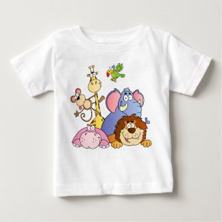 A Jungle Animals Baby T-Shirt