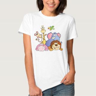 A Jungle Animals T Shirts