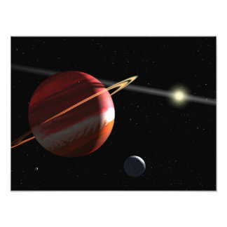 A Jupiter-mass planet orbiting the nearby star Photo