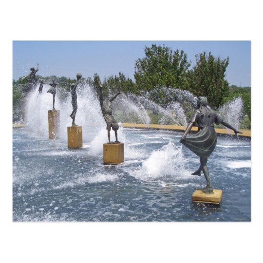 A Kansas City, Missouri Fountain Postcard