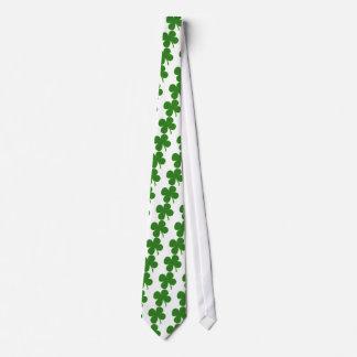 A Kelly Green Shamrock Tie