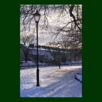 A kendal winter scene photo print