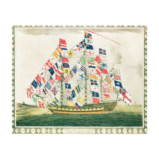 A King's Ship Canvas Print