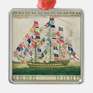 A King's Ship Christmas Ornament