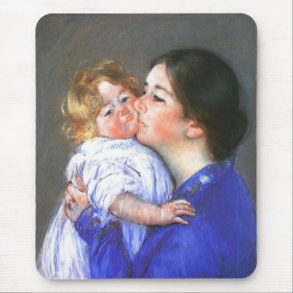 A Kiss For Baby Anne Mary Cassatt Mousepad