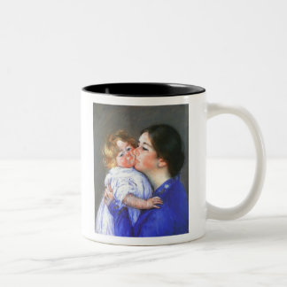 A Kiss For Baby Anne, Mary Cassatt Coffee Mugs