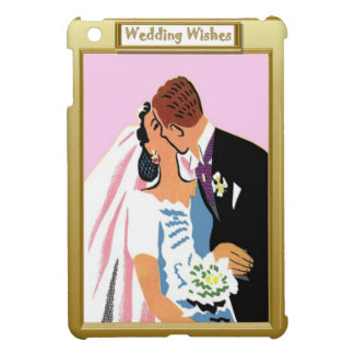 A kiss for the bride iPad mini cases