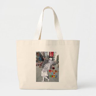A Kiss in Time Canvas Bag