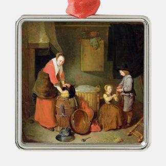 A Kitchen Interior, 17th century Christmas Ornament