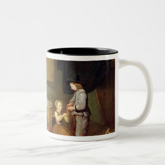A Kitchen Interior, 17th century Two-Tone Coffee Mug