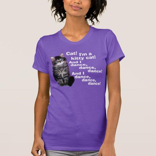 A Kitty Cat Song T-shirt