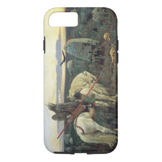 A Knight at the Crossroads iPhone 7 Case