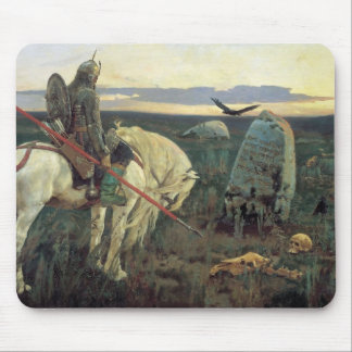 A Knight at the Crossroads Mouse Mat