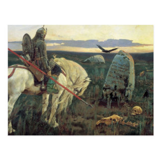 A Knight at the Crossroads Postcard