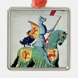 A Knight Carrying the Arms of Verona Christmas Ornament
