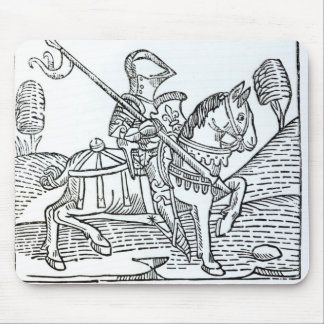 A Knight, from Caxton's 'Game of the Chess' Mouse Mat