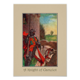 A Knight of Camelot Art Print