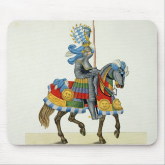 A knight on his way to a tournament, plate from 'A Mouse Mat