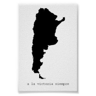 a la victoria siempre poster