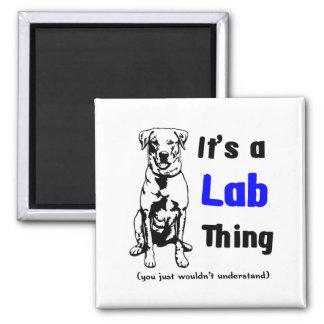 A Labrador Thing Refrigerator Magnet