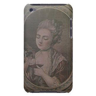 A Lady Drinking Chocolate (colour litho) Case-Mate iPod Touch Case