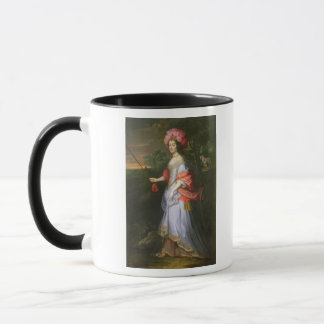A Lady in Masquerade Costume, c.1679 Mug