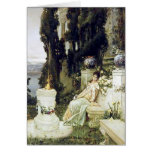 A Lady on a Marble Bench - Wilhelm Kotarbinski Cards