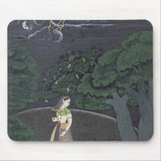 A lady on her way to a tryst, Guler, c.1760 Mouse Pad