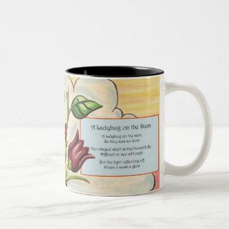A Ladybug on the Stem Two-Tone Coffee Mug