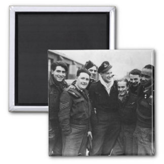 A Lancaster Bomber Crew Magnet