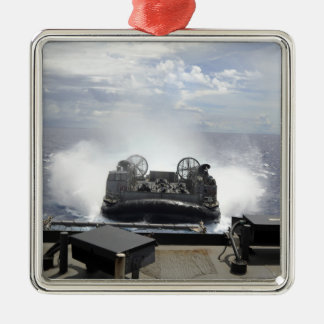 A landing craft air cushion christmas ornament