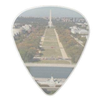 A landscape view of Washington DC Acetal Guitar Pick