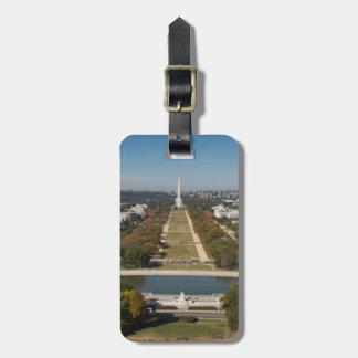 A landscape view of Washington DC Bag Tag