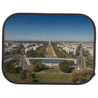 A landscape view of Washington DC Car Mat