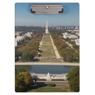A landscape view of Washington DC Clipboard