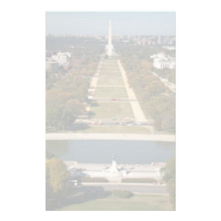 A landscape view of Washington DC Customised Stationery