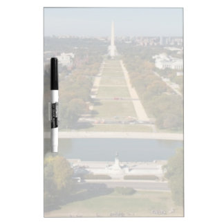 A landscape view of Washington DC Dry Erase Board
