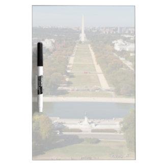 A landscape view of Washington DC Dry Erase Whiteboards