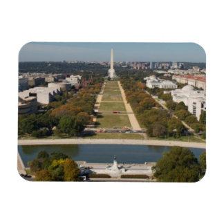 A landscape view of Washington DC Magnet