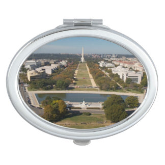 A landscape view of Washington DC Makeup Mirrors