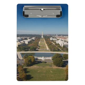 A landscape view of Washington DC Mini Clipboard