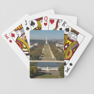 A landscape view of Washington DC Playing Cards